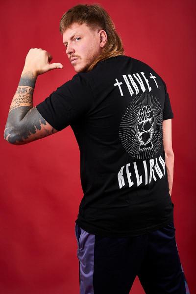 FiNCH ASOZiAL - T-Shirt Rave Religion